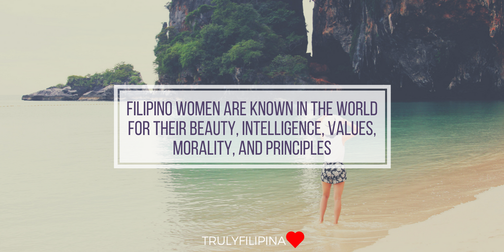 Filipino women characteristics and values