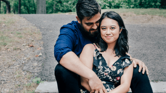 a conservative filipino couple